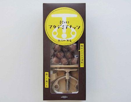 殻付きマカデミアナッツ