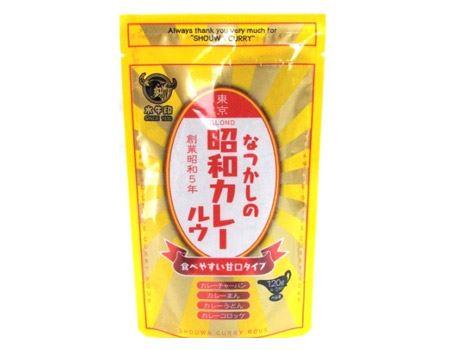 水牛食品 なつかしの昭和カレー ルウ