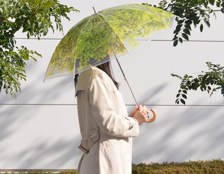 木漏れ日傘