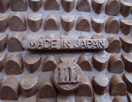 この足裏のぼこぼこが滑らない秘密。もちろんmade in japan