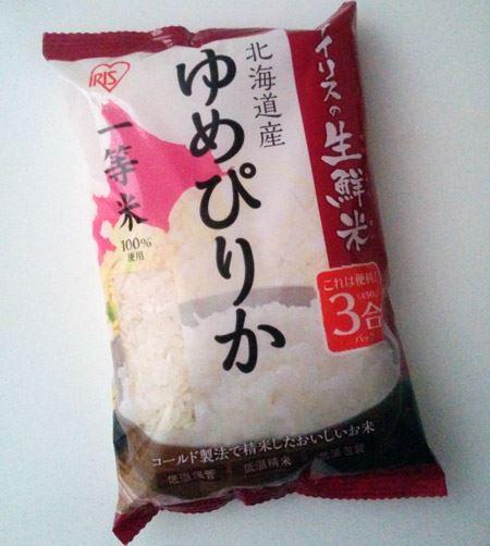 1袋3合の使い切りサイズを高気密パック。プレミアムなお米を新鮮な状態で食べられる
