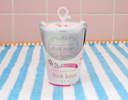 泡立てるために生まれた容器「awahour(あわわ)」