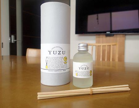 消臭できるリードディフューザー、「YUZU」