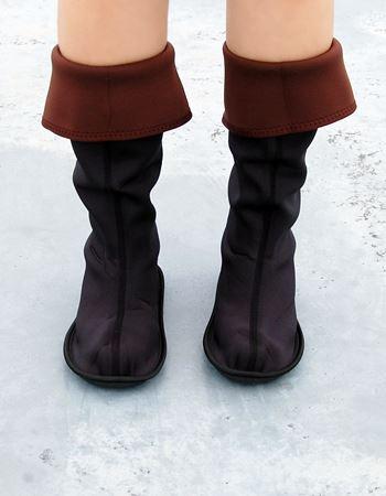 履いてみるとこんな感じで、違和感はありません