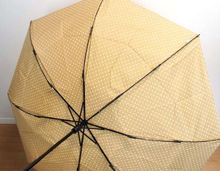 ちなみに傘が裏返ってもまったく平気です。子供の頃にこれをやって怒られた方は筆者だけではないはず
