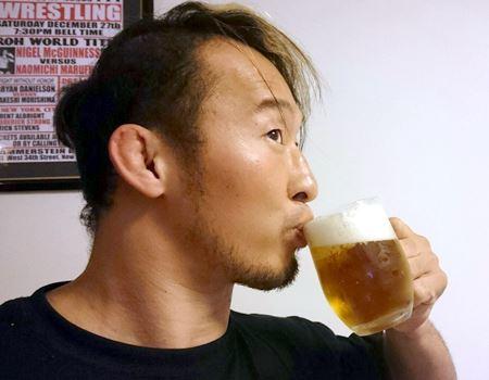 やっぱり泡のあるビールは最高です!