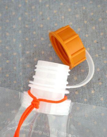 抗菌加工された口栓とキャップ