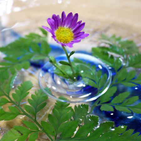 その時の気分に合わせて花を変えて楽しみましょう