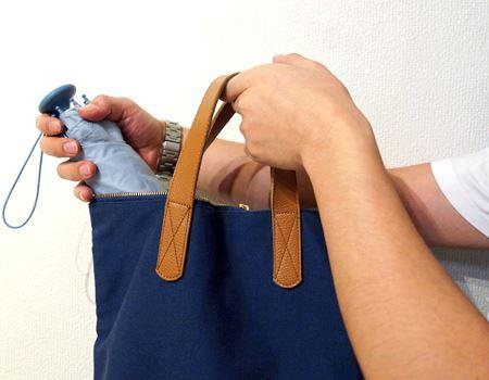 使ってすぐにバッグに入れても問題ナシ!