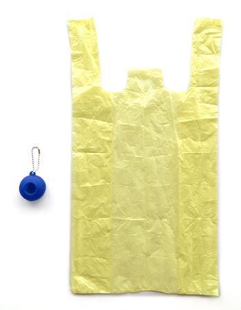 レジ袋は幅255mm × 高さ480mmと意外と大きめ