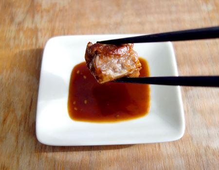 まずは定番、焼肉で。ほどよい甘さと、にんにくが絶妙