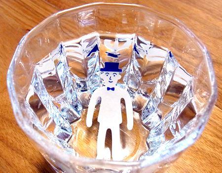 それでは5分間水につけて、変形させてみましょう