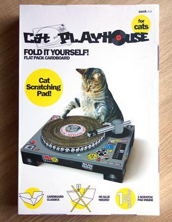 「Cat Scratch Turntable (キャットスクラッチターンテーブル)」