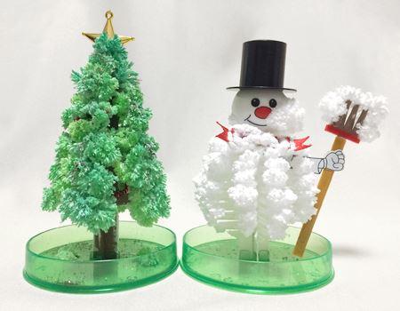 「Magic Christmas Tree (マジッククリスマスツリー)」 & 「Magic Snowman (マジックスノーマン)」