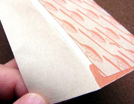 やさしい手触りと軽くしなやかな感じは和紙ならでは