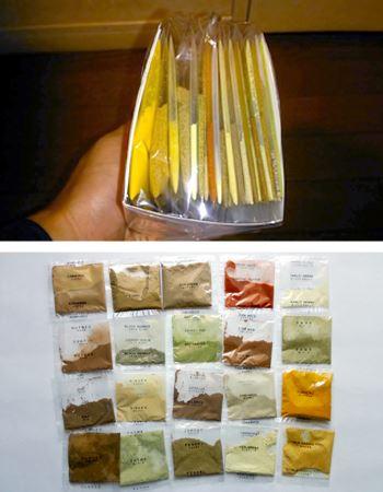 20種類のスパイスがきれいに収まっております。なんか漢方薬のセットみたい!