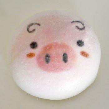 ピンクのお鼻のぶたさん