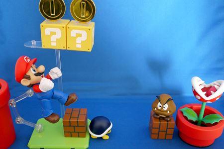 ジャンプの先に敵がいる…。それこそマリオです!