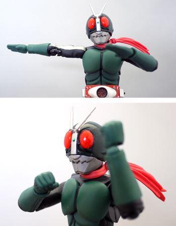「お見せしよう、仮面ライダー変身!」のポーズも格好よく決まりますよ!