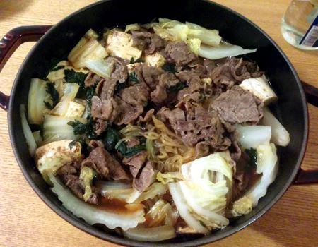 すき焼きも、お肉もお野菜もジューシーでふっくらおいしくできあがります
