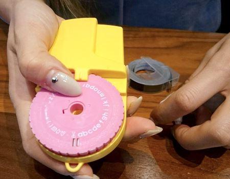 そしてピンクの文字盤をセット