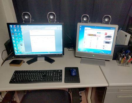 1台分のマウスとキーボードが不要に!