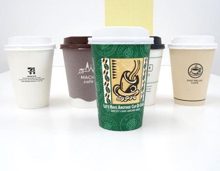 どこかのカフェのカップ? と思いきや、これ市販品なんです!