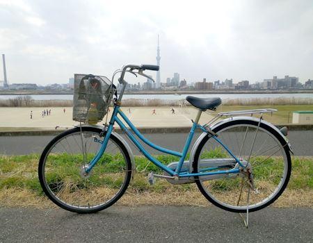 マイ自転車!