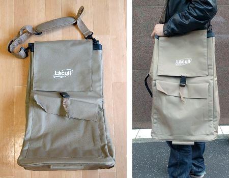 付属のバッグ