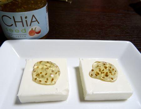 ライチの爽やかな風味はクリームチーズにマッチ