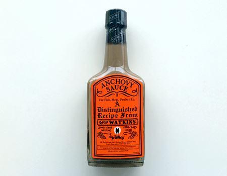「ワトキンス アンチョビソース (Geo Watkins Anchovy Sauce)」