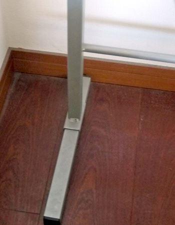 足部分の奥行きは最大で37cmほど