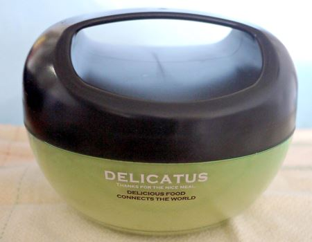 今回購入したのは「DELICATUS (デリカタス) キャリーランチボウル フラット」です
