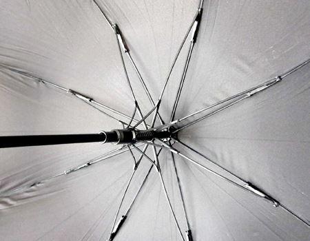 ちなみに、8本骨のちゃんとした傘ですよ。直径は約110cm