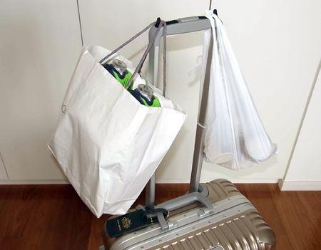 ビニール袋や手提げ袋も問題なし!