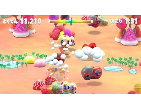 「マウスモンスター」は歯磨きの動きに合わせてモンスターを退治するゲームです