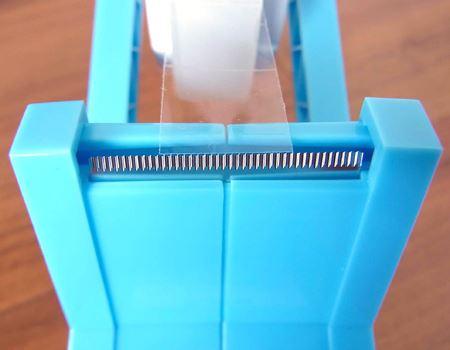 刃の部分も新開発。切り口がまっすぐにカットされます