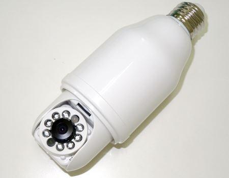 見た目はごつめの電球です