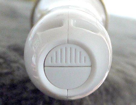 本体下部にAB2つのクリックボタンがあります。これを押して変色します