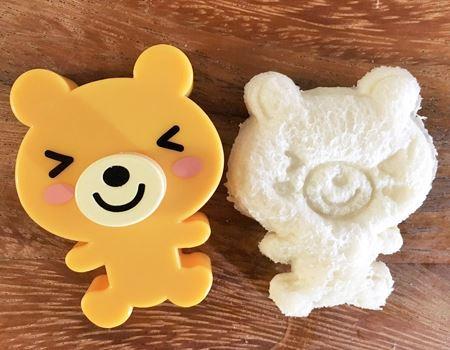 パンのキメが細かいほうが、柄がキレイにでます