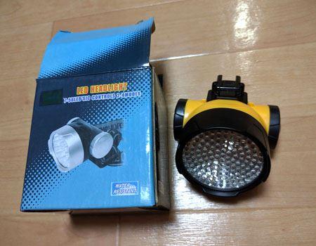 LED128灯サイクルライト