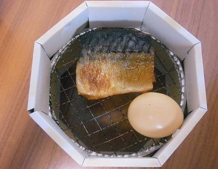 さばの塩焼きとゆでたまごはいい感じで仕上がっています。これはどちらもおいしかったです♪