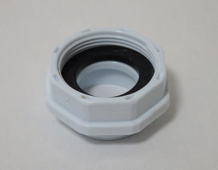 外ネジ用アダプター。直径22ミリ、取り付けネジM22×1.0。適用蛇口メーカー:グローエ、モーエン、ヤンマー等と書かれています