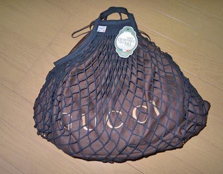 中にブランドバッグの保護袋などを入れてバッグとして使うのも○