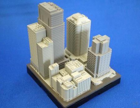 こちらが単体の商品です。このようにビルを再現しています
