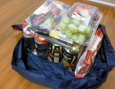 実際はビール以外の荷物もいろいろと積み込んで
