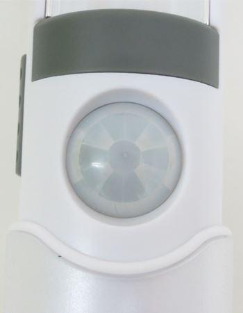 丸い目玉のような部分が探知センサー部分です