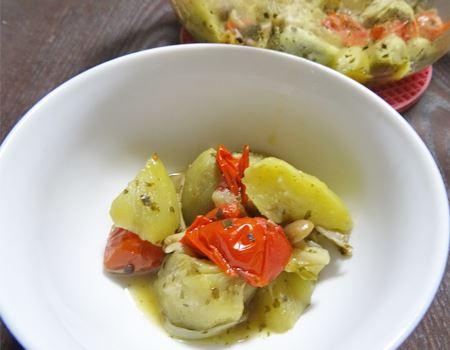 簡単手軽にエスニック蒸し野菜が完成!出来たてはもちろん、冷蔵庫で冷やして常備菜にも◎