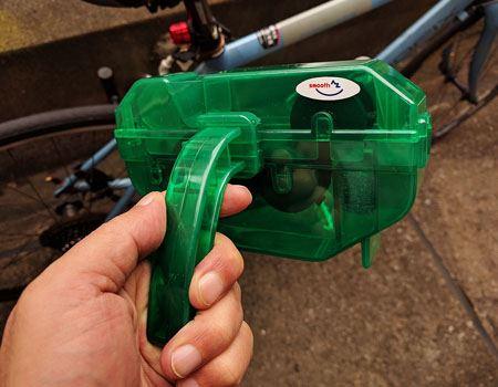 自転車用チェーン洗浄器 DX