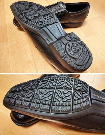 クッション性、安定性に優れた靴底